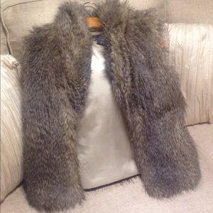 BB Dakota Fur Vest w/silky lining